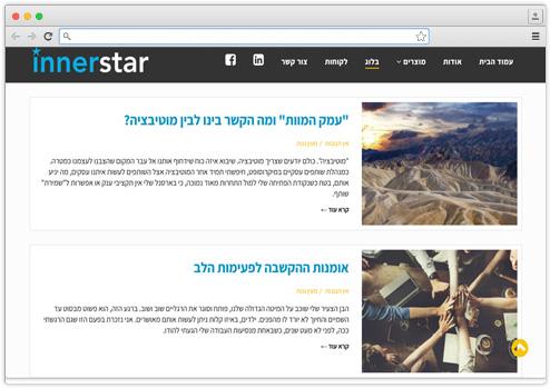 אתר תדמית ליועצת עסקית