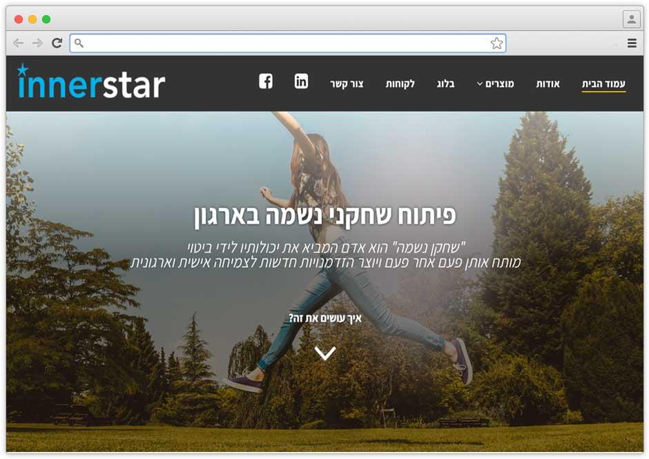 בניית אתר תדמית ליועצת עסקית